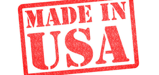 MADE IN USA Rubber Stamp over a white background.