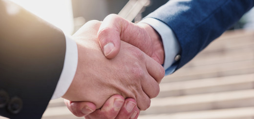 businessmans handshake - Business partnership Concept image