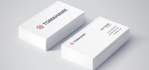 Tomahawk-Branding-Business-Cards