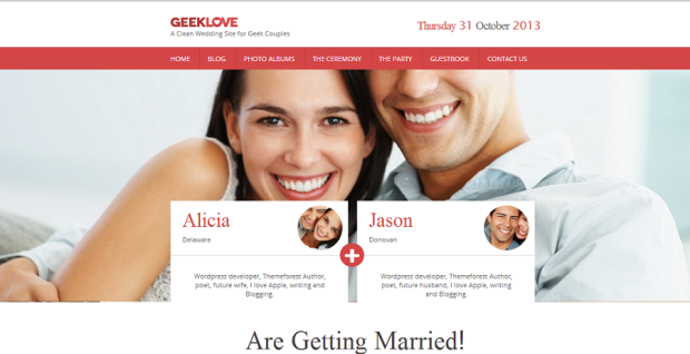 5-GeekLove-A-Clean-Wedding-Site-for-Geek-Couples-WordPress-Wedding-Theme1