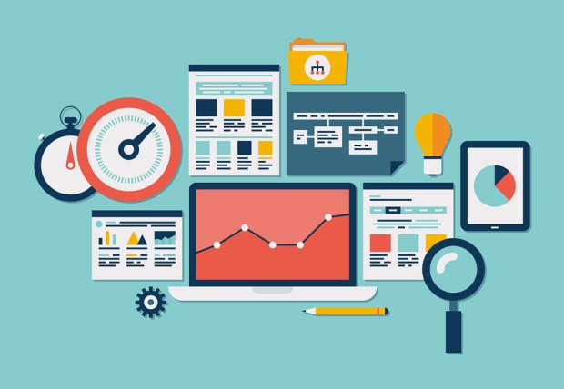 Website Seo And Analytics Icons