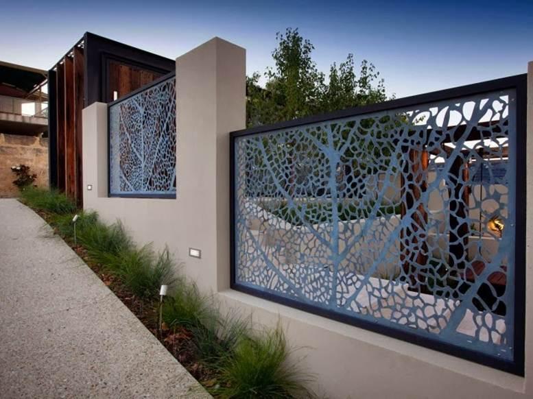 Decorative-Fence-For-Modern-Home-Design